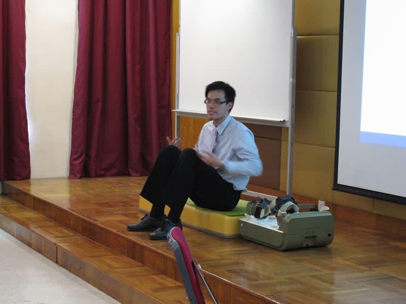 「O形腳痛症新療法」講座