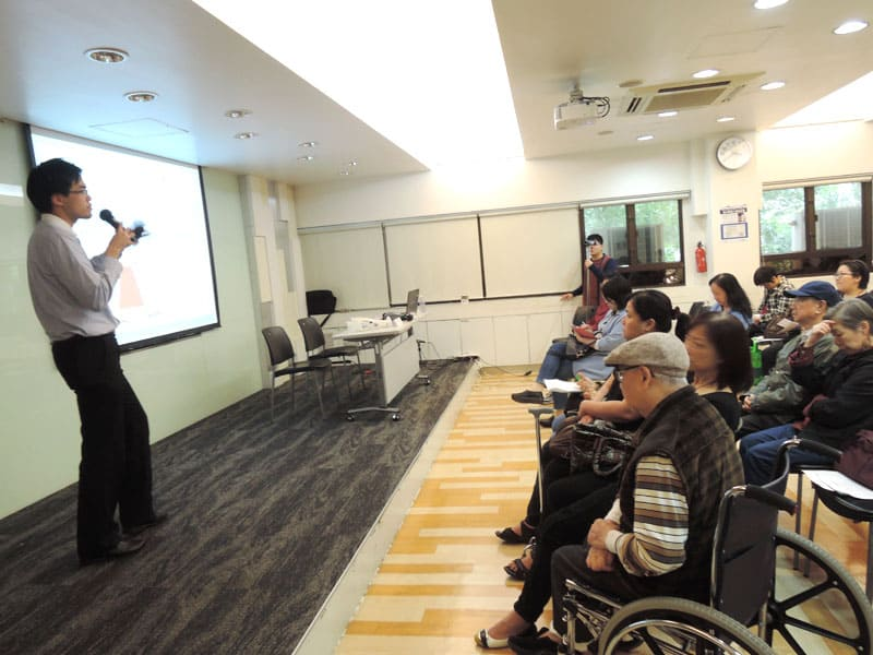 香港足科矯形師學會 - 足下垂講座