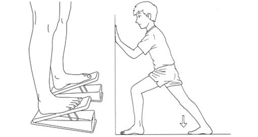 小腿伸展運動