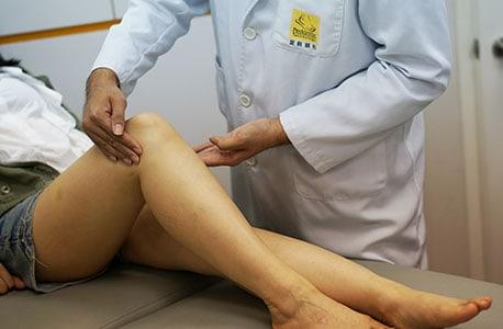 knee exam