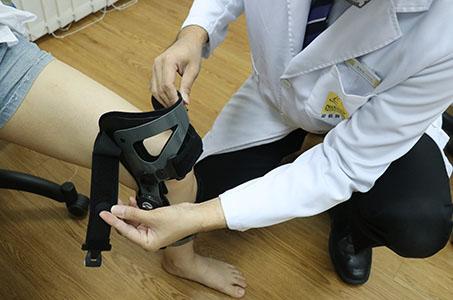 knee brace fitting