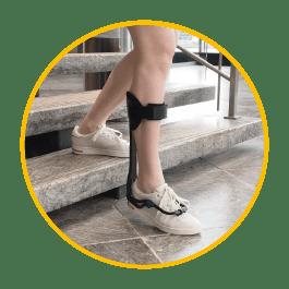 turbomed drop foot